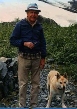 Picture of Dr. Boyer and his dog