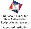 logo for the National Council for State Authorization Reciprocity Agreements