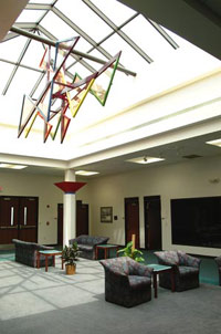picture of the student/conference center interior