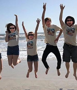 Highland's Forensics team in Daytona Beach, Fla