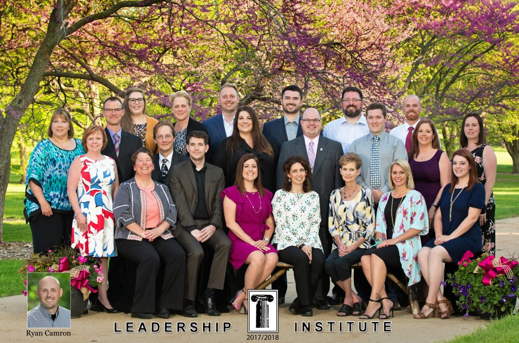 Picture of the members of the Leadership Institute